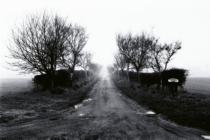 The Road to Bleak Farm Norfolk England